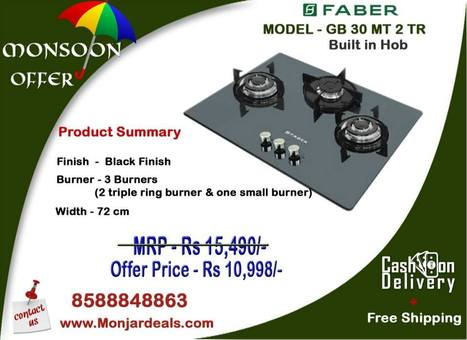 Built in Hobs for Smart and Healthy Indian Kitchens Styl | Monjar Deal a Complete Best Price Online store in INDIA for Home Appliances | Scoop.it