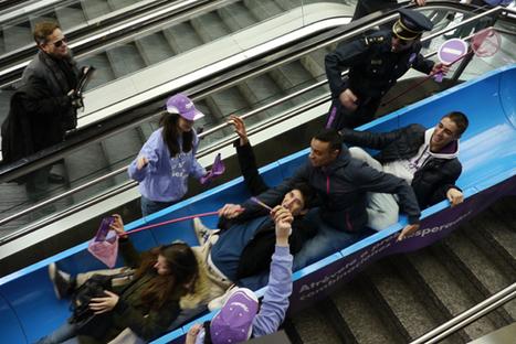 Tobogán de Milka en el metro | Control | Grupo Control | creatividad publicidad | Scoop.it