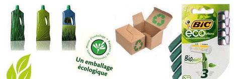 Environnement : des packagings écologiques de plus en plus innovants - consoGlobe | Bioplastique | Scoop.it