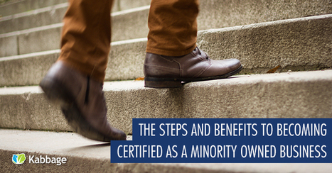 The Steps and Benefits to Becoming Certified as a Minority Business Owner - Small Business Blog | DWBE Programs | Scoop.it