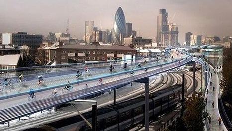 Video: Londres piensa desarrollar pistas para bicis por encima de las vías de ferrocarril | Deporte sostenible UNDAV | Scoop.it