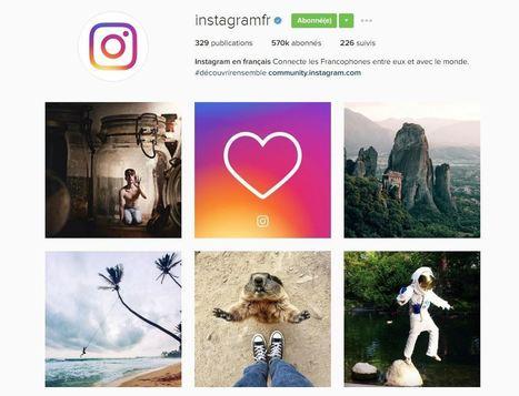 Instagram : quelles opportunités pour les marques ? | Community management | Scoop.it