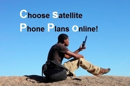 How you can get best sat phone plans online? | Technology | Scoop.it