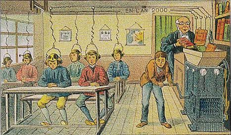 Utopie - Villemard, 1910 | L'Ecole du Futur, Aujourd'hui | Scoop.it