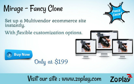 Mirage – Fancy Clone and Multi Vendor Marketplace | Wanelo clone script | Scoop.it