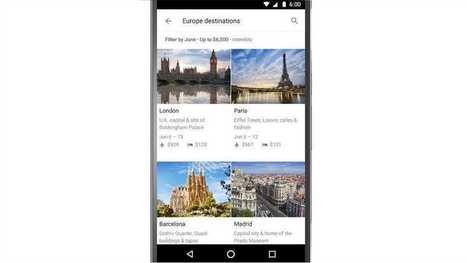 «Google Destinations», le nouveau service pour planifier ses vacances | Internet des Objets & Smart Big Data | Scoop.it