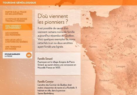 Québec Canada : Partir sur la trace de ses ancêtres - La Presse+ | Nos Racines | Scoop.it