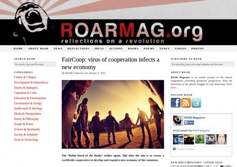 FairCoop at ROAR (Reflections on a Revolution) Magazine | Peer2Politics | Scoop.it