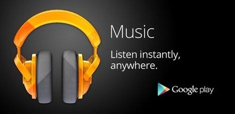 Mise à jour 4.3.606 pour Google Music | Musique sous Android | Scoop.it