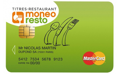 Les tickets restaurant 2.0 : du format papier à la carte à puce   Moneo Resto 1ère carte Titres-Restaurant   Scoop.it