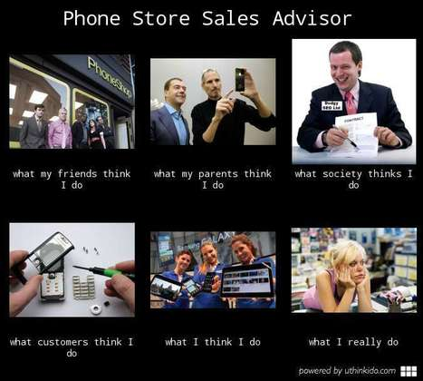 Phone Store Sales Advisor | What I really do | Scoop.it
