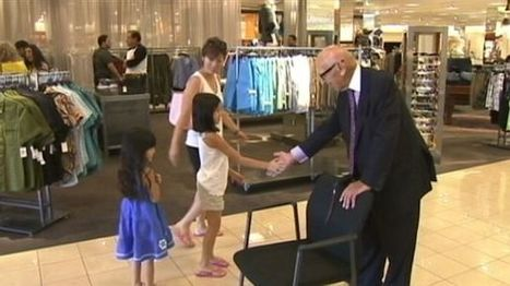 99-Year Old California Man Is Nordstrom's Only Greeter | Aging and aging services | Scoop.it