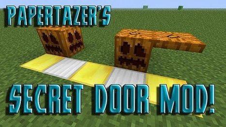 Secret Door Mod for Minecraft 1.6.4 | Minecraft 1.6.4 Mods | Scoop.it