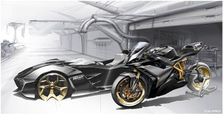 Landspeed Blog - Anthony Colard - SKetches 7 - Ducati Art | Ductalk | Scoop.it