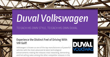 Experience the Distinct Feel of Driving With VW Golf! | Used Cars | Scoop.it