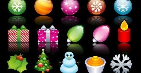 Cuatro packs de iconos gratuitos con motivos navideños | animales | Scoop.it