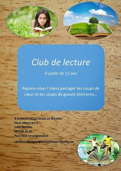 Escapages: Club de lecture Ados à la Bibliothèque publique locale de Nivelles | Escapages | Scoop.it