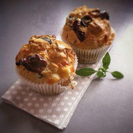 Muffins au chèvre et tomates confites ... | Les p'tits plats | Scoop.it