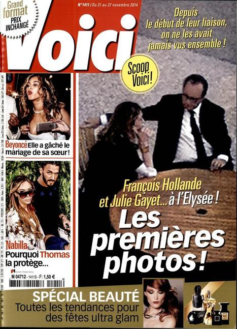 "Hollande-Gayet: ""Voici"" explique les dessous de son scoop 