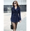 Trendy Multi- Color Lapel Thicken  Middle Length Trench Coat, Korean Clothing Online   FASHION-BEAUTY-CLOTHES-GIRL   Scoop.it