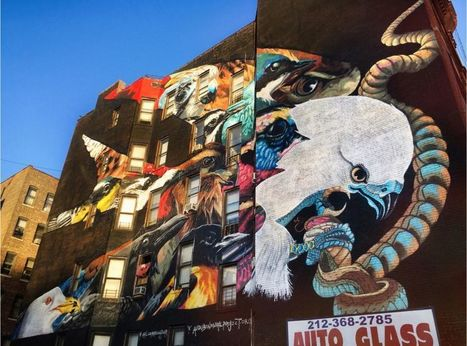 Manhattan Mural Evokes Preservation Message, for Birds and Humans – Next City   Suburban Land Trusts   Scoop.it