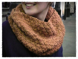 Snood Cloqué pattern by Aime comme Marie | Knitting for everyday comfort and delight | Scoop.it