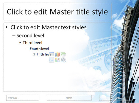 How to Create a PowerPoint Template using a JPG Image Background | PowerPoint Presentation | projects | Scoop.it
