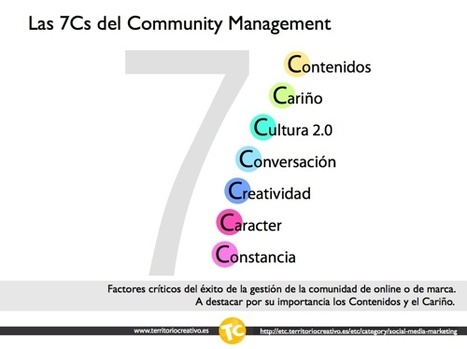 Las 7 Ces del Community Management   Territorio creativo   Aplicaciones en la Educación   Scoop.it