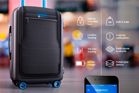 the 'world's first' connected luggage | Net | Scoop.it