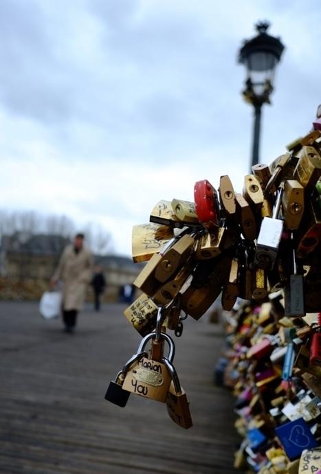 Les amoureux de Paris crient halte aux « cadenas d'amour » | Tout sur le Tourisme | Scoop.it