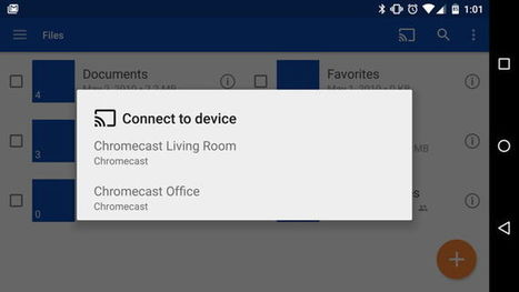 OneDrive ya permite compartir imágenes y videos en Chromecast | Geeky Tech-Curating | Scoop.it