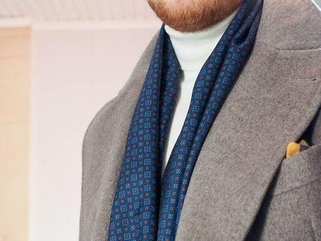 Scarf with suit - Ohituskaistalla | Ohituskaistalla | Scoop.it