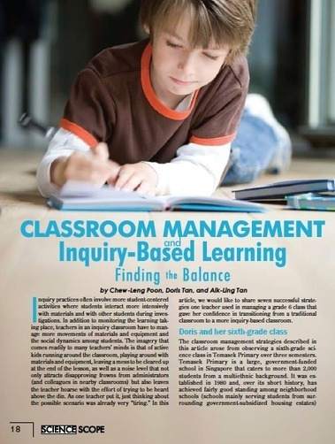 Inquiry Learning | inquiry based learning and teaching | Scoop.it