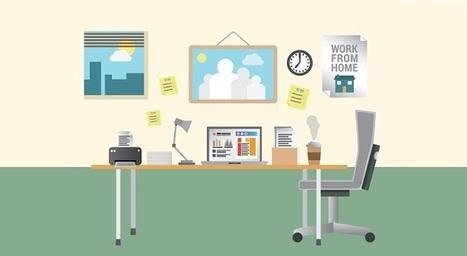 Comment évaluer si un employé peut être productif en télétravail - AtmanCo | Etat des lieux du télétravail salarié en France | Scoop.it