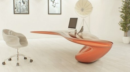 Volna Table by Nüvist | CRAW | Scoop.it