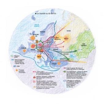 Le monde vu de Berlin : ancré à l'Ouest, le regard tourné vers l'Est | ECS Géopolitique de l'Europe | Scoop.it