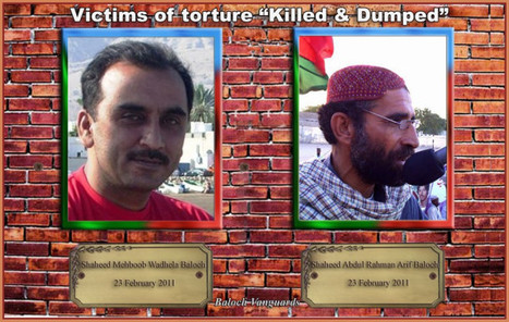 1st anniversary of the martyrdom of two Baloch. | Human Rights and the Will to be free | Scoop.it
