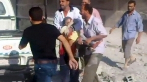 Syria video shows 'child victims' of Aleppo shelling | News from Syria | Scoop.it