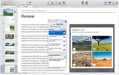 Create Wonderful Interactive eBooks with iBooks Author | Edtech PK-12 | Scoop.it