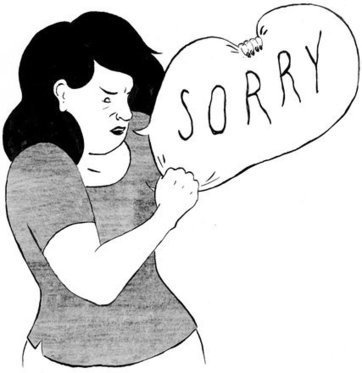 Why Women Apologize and Should Stop | English Usage for French Insights | Scoop.it