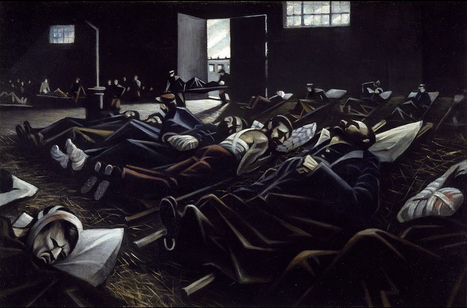 Peindre la guerre - Mission du centenaire   histoire   Scoop.it