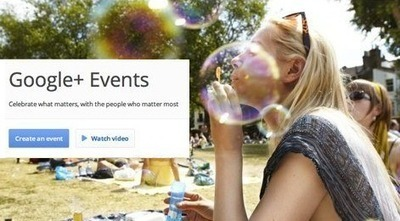 How to Create a Google+ Event [Quick Tip] | We're in Business | Scoop.it