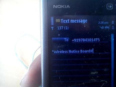 Arduino Based Wireless Notice Board Using GSM Module: Circuit Diagram & Code | Open Source Hardware News | Scoop.it