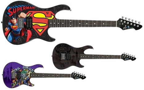 DC Comics Super Heroes Guitars & Accessory Line Coming from Peavey ... - The Daily BLAM! | Tune Town Talk | Scoop.it