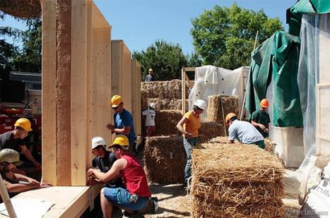 La maison de paille en première ligne des constructions durables   AutoConstruction   Scoop.it