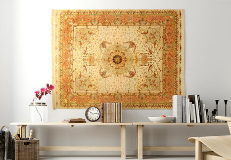 Carpet, carpet on the wall...   Inspiration and decorating with Handmade carpets   Scoop.it