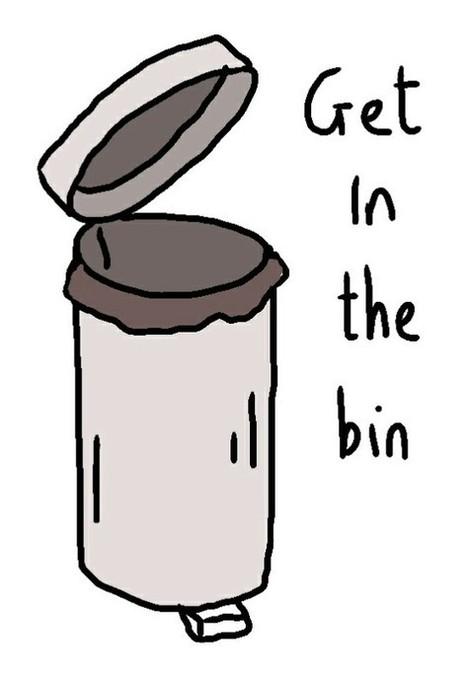 Get in the bin | Art | Scoop.it