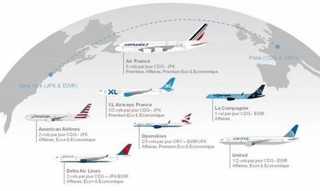 Quelle est la meilleure compagnie pour relier Paris à New York? | AFFRETEMENT AERIEN KEVELAIR | Scoop.it