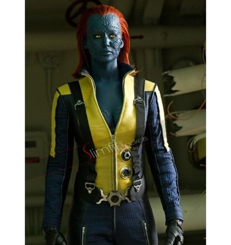 Jennifer Lawrence X-Men Mystique Jacket | Never Seen Before - Exclusive Collection | Scoop.it