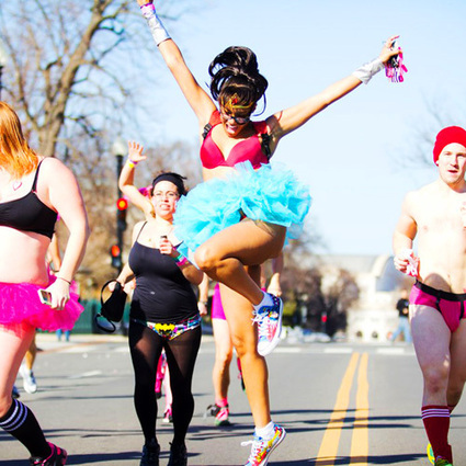 Cupid's Undie Run Seattle, WA - I'm with Cupid | Valentine's Day Gifts Seattle | Scoop.it